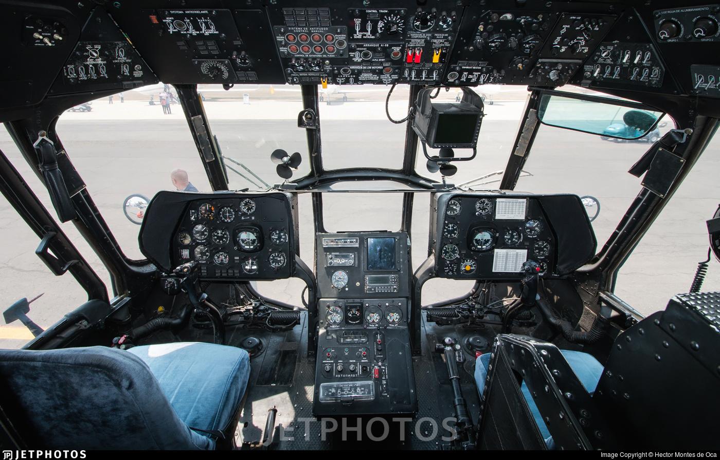 PF-201 - Mil Mi-17-1V Hip - Mexico - Police