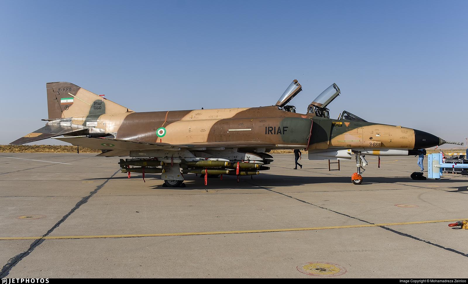 3-6611 - McDonnell Douglas F-4E Phantom II - Iran - Air Force