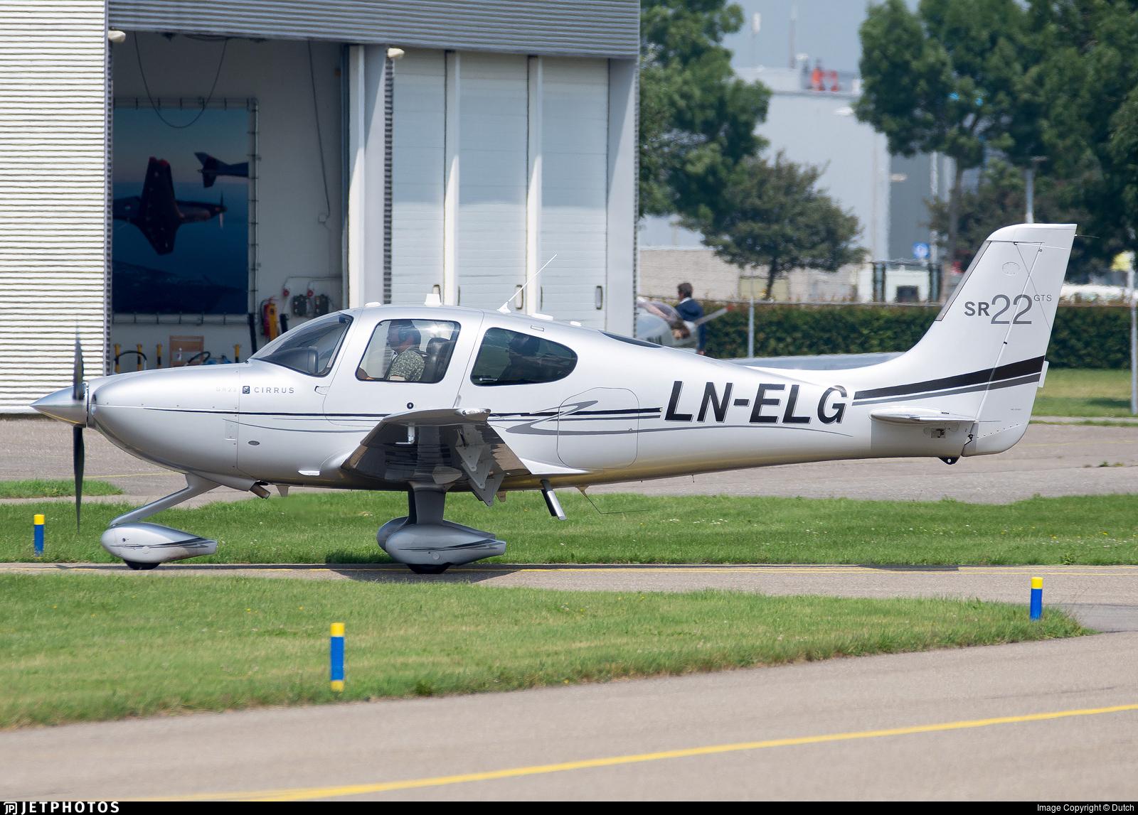 LN-ELG - Cirrus SR22-GTS - Private
