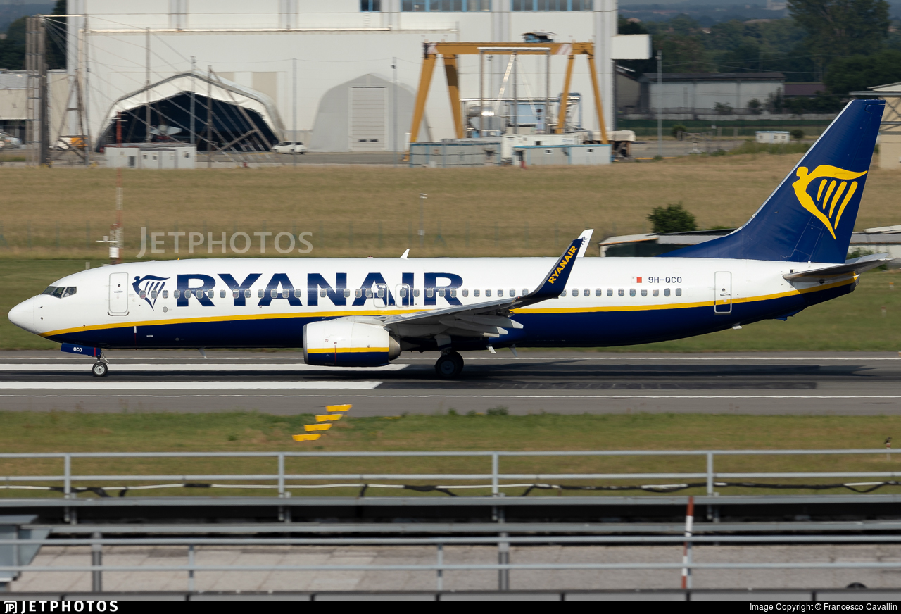 9H-QCO - Boeing 737-8AS - Ryanair (Malta Air)