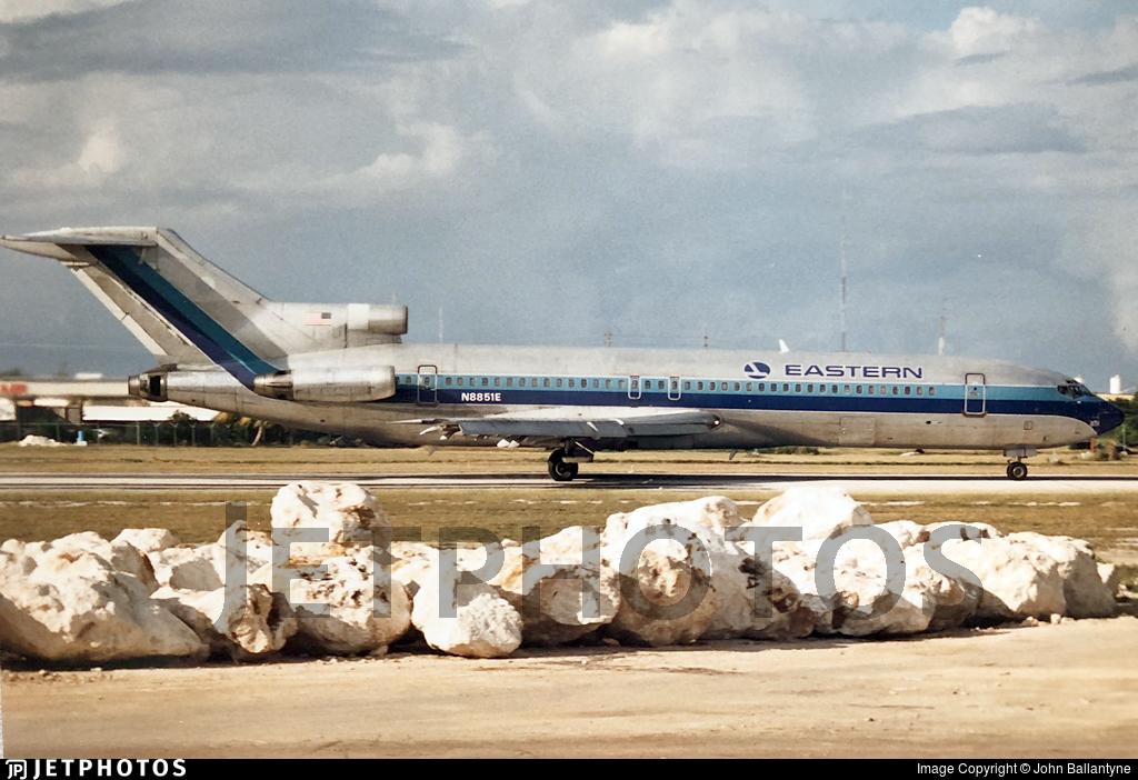 N8851E - Boeing 727-225(Adv) - Eastern Air Lines
