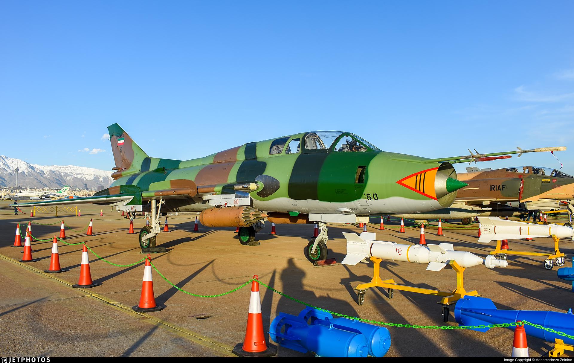 15-2460 - Sukhoi Su-22UM3K Fitter G - Iran - Revolutionary Guard