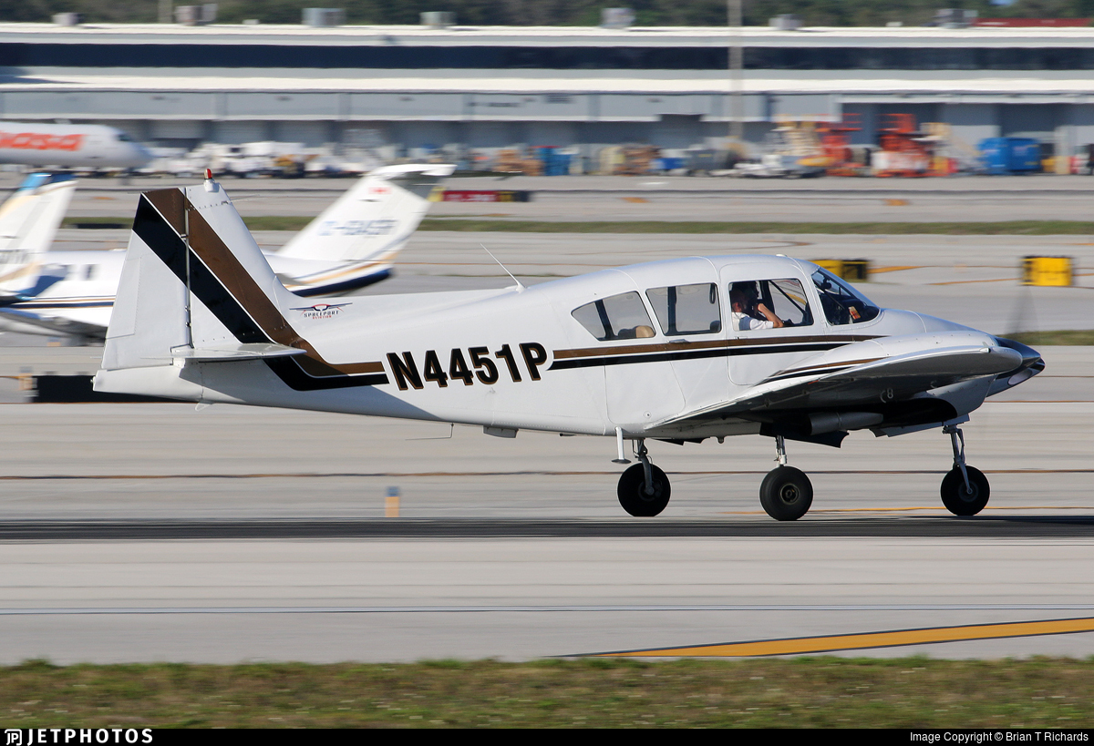N4451P - Piper PA-23-160 Apache - Private