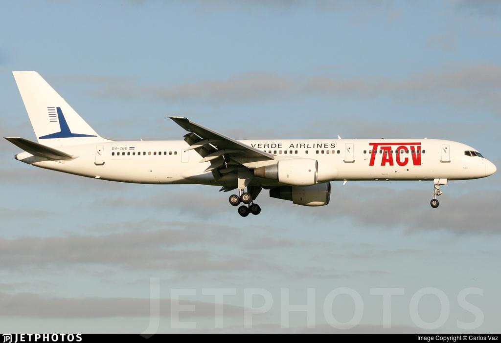 D4-CBG - Boeing 757-2Q8 - TACV Cabo Verde Airlines
