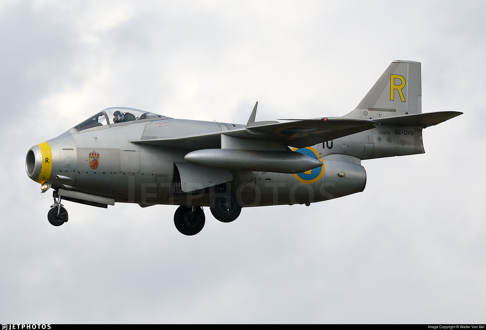 SE-DXB - Saab J-29F Tunnan - Swedish Airforce Historic Flight