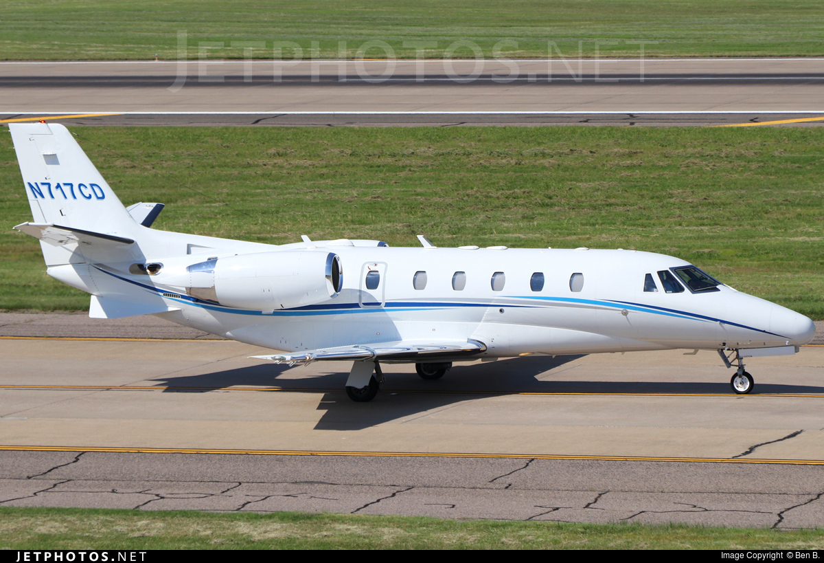 N717CD - Cessna 560XL Citation Excel - Private