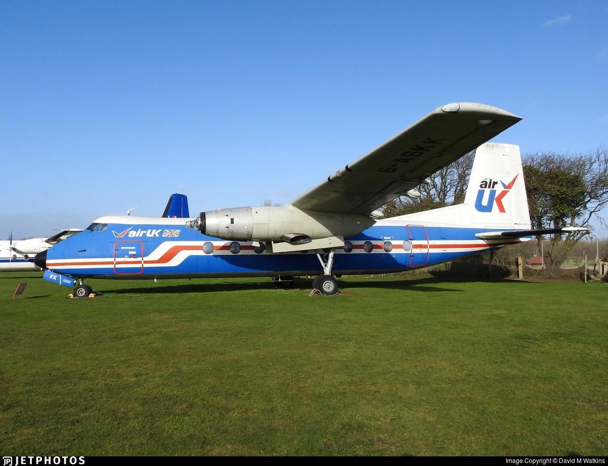 G-ASKK - Handley Page Dart Herald 211 - Air UK