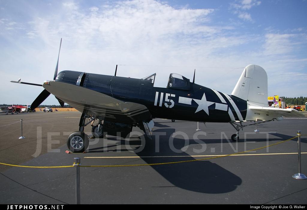 N72NW - Goodyear FG-1D Corsair - Private