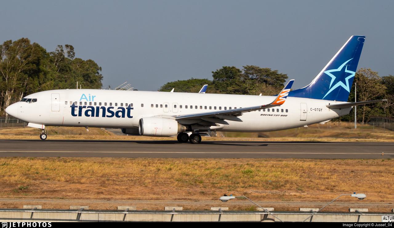 C-GTQY - Boeing 737-8Q8 - Air Transat