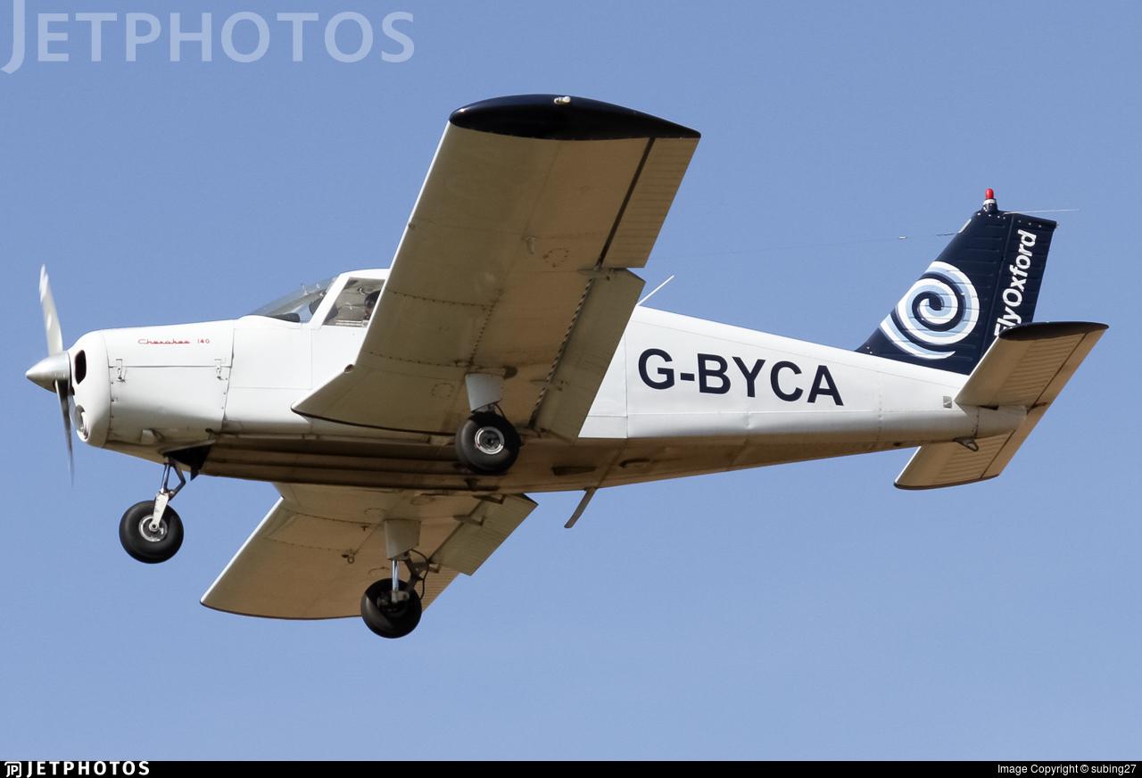 G-BYCA - Piper PA-28-140 Cherokee D - Go Fly Oxford