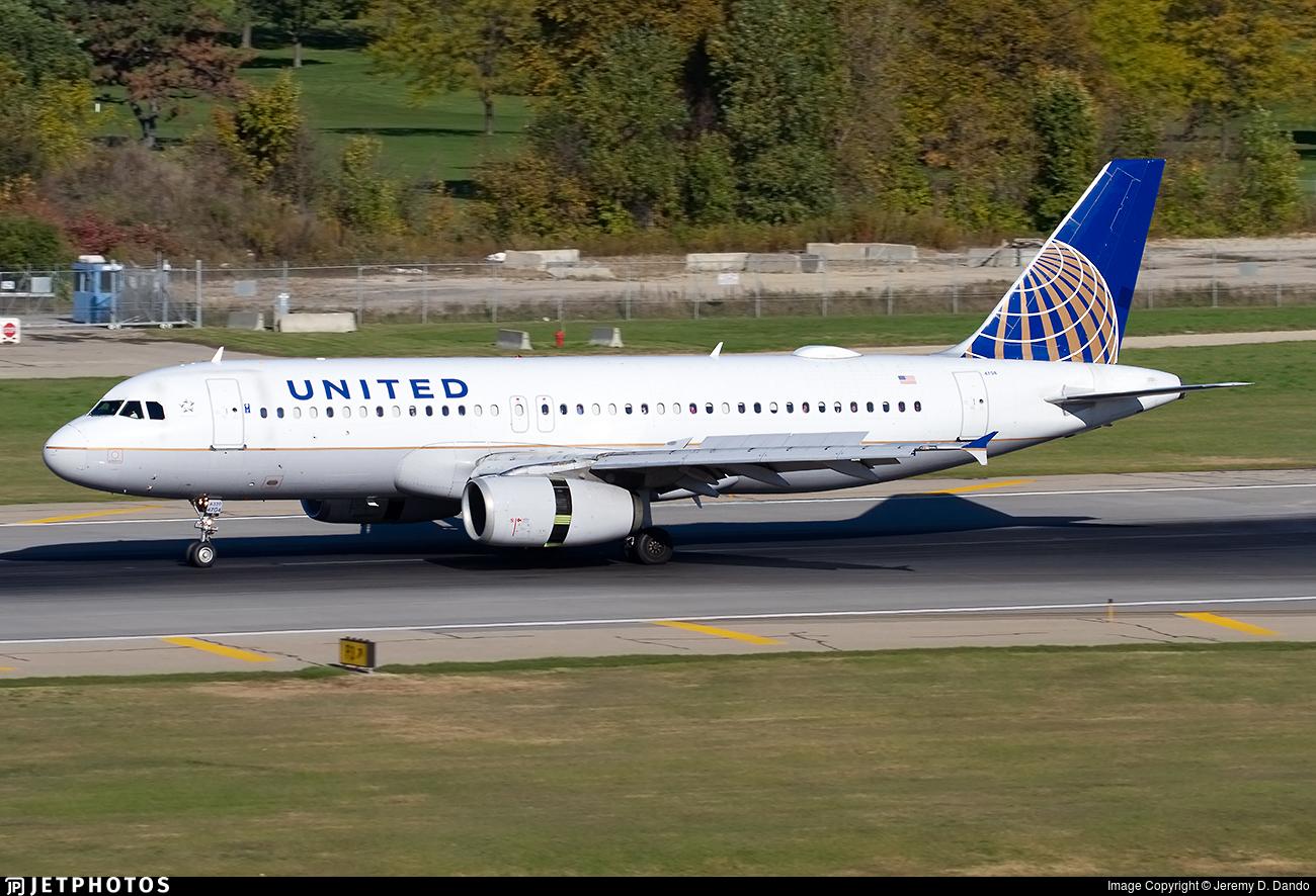 N404UA - Airbus A320-232 - United Airlines