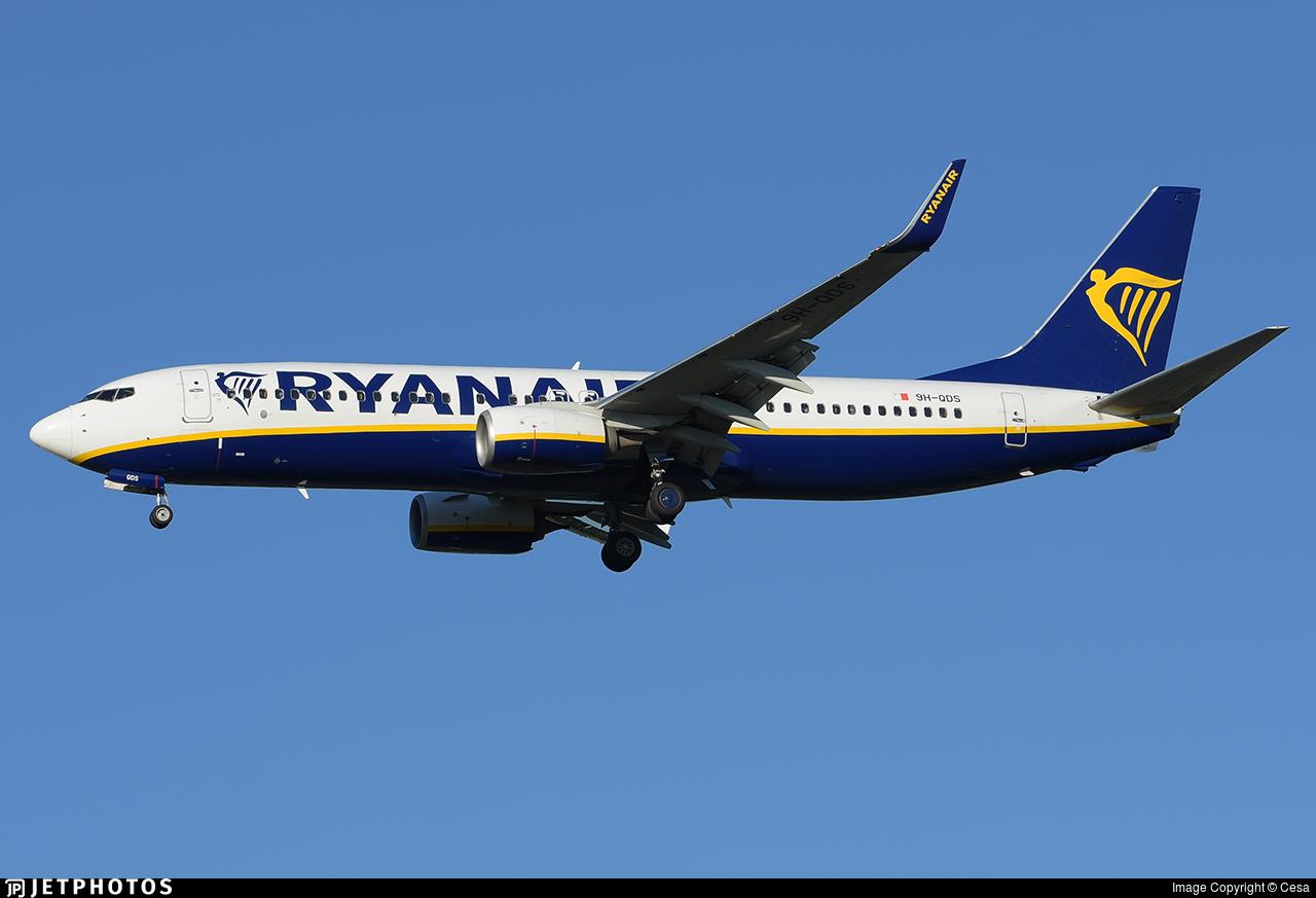 9H-QDS - Boeing 737-8AS - Ryanair (Malta Air)
