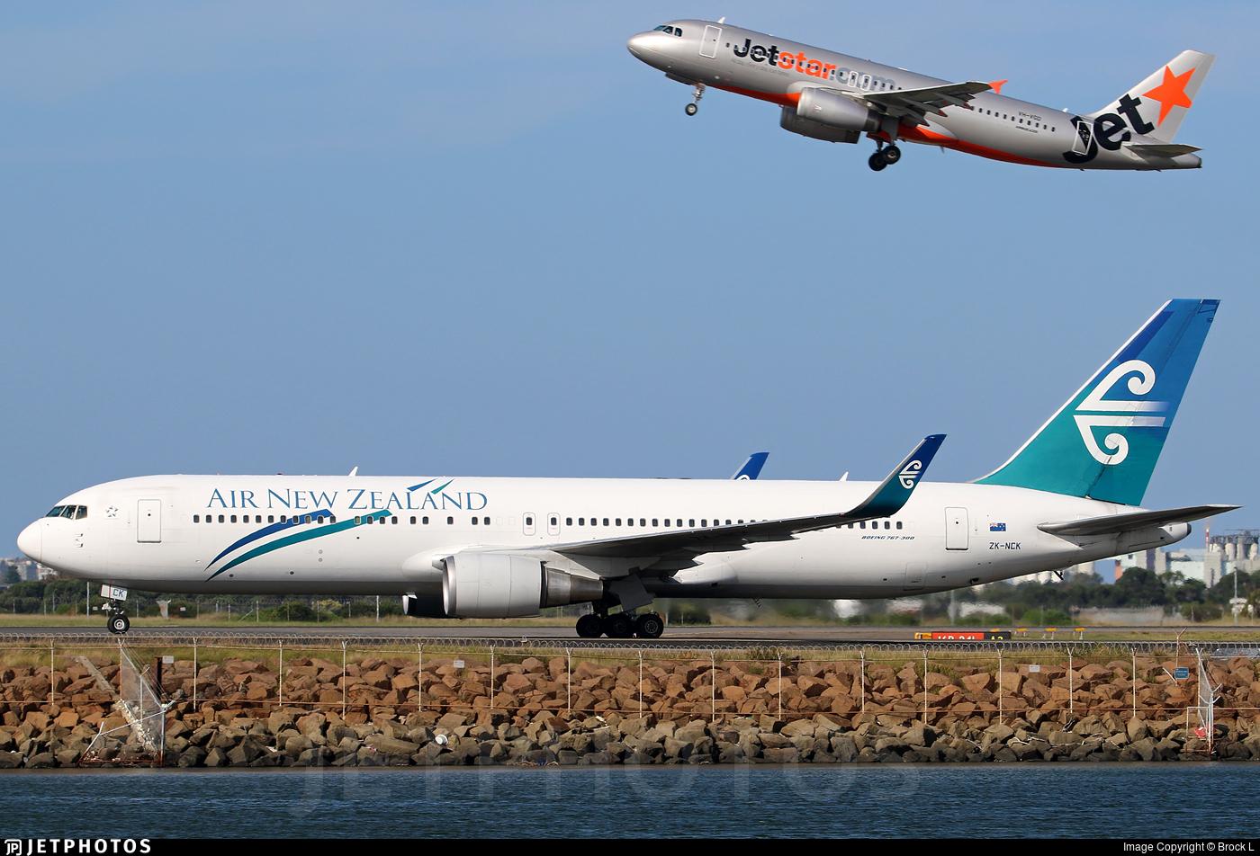 ZK-NCK - Boeing 767-319(ER) - Air New Zealand