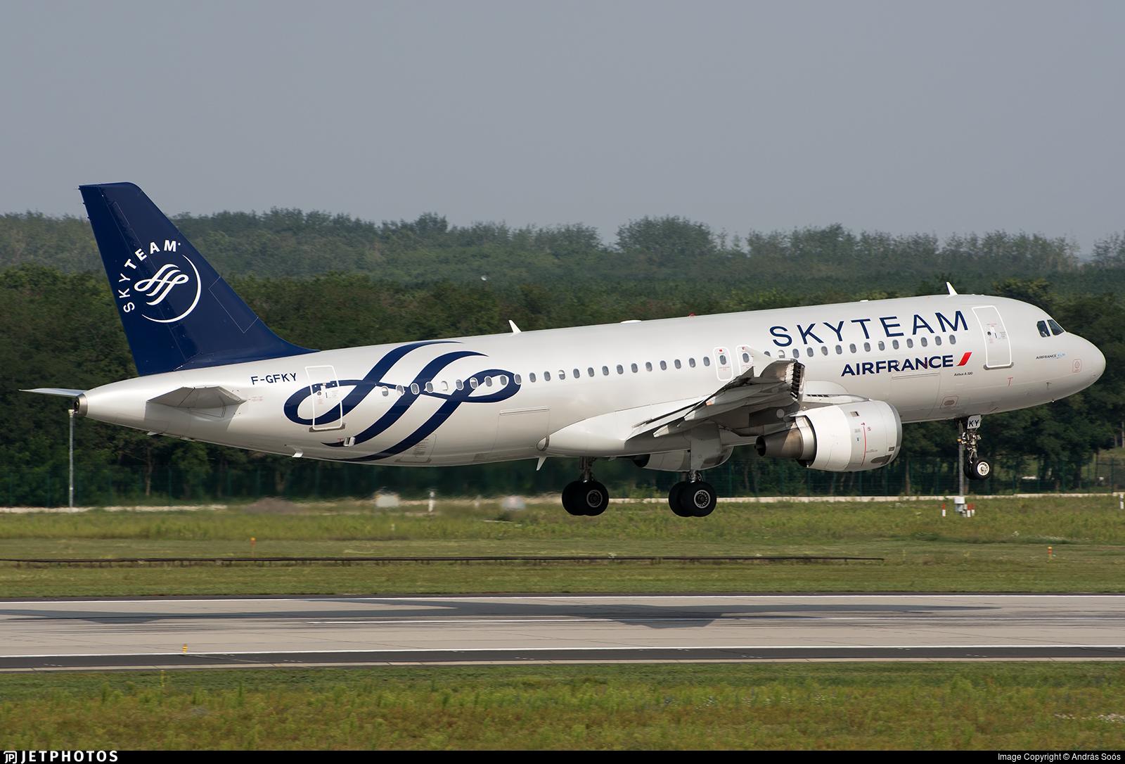 F-GFKY - Airbus A320-211 - Air France