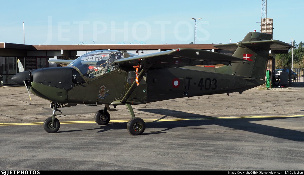 T-403 - Saab T-17 Supporter - Denmark - Air Force