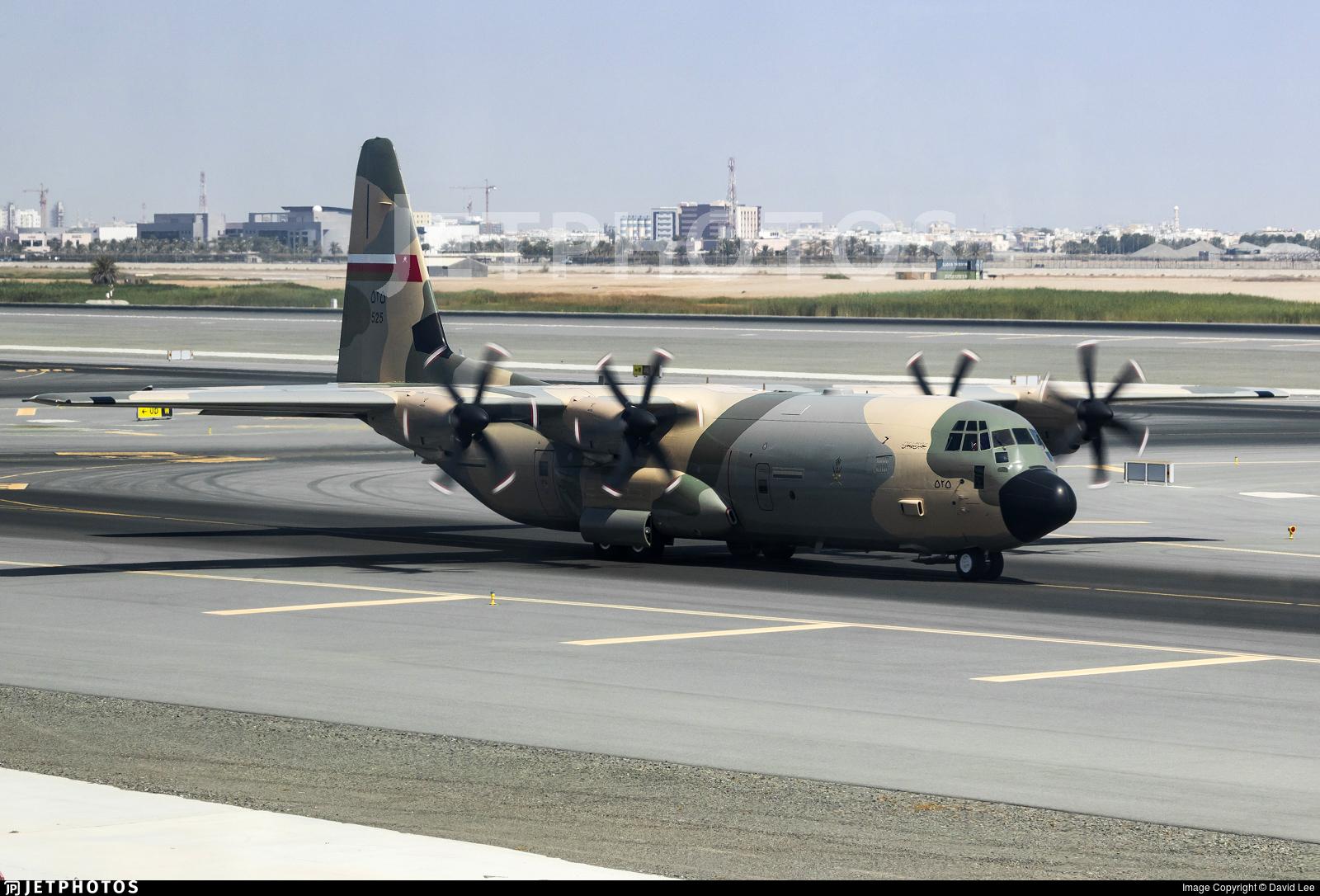 525 - Lockheed Martin C-130J-30 Hercules - Oman - Royal Air Force