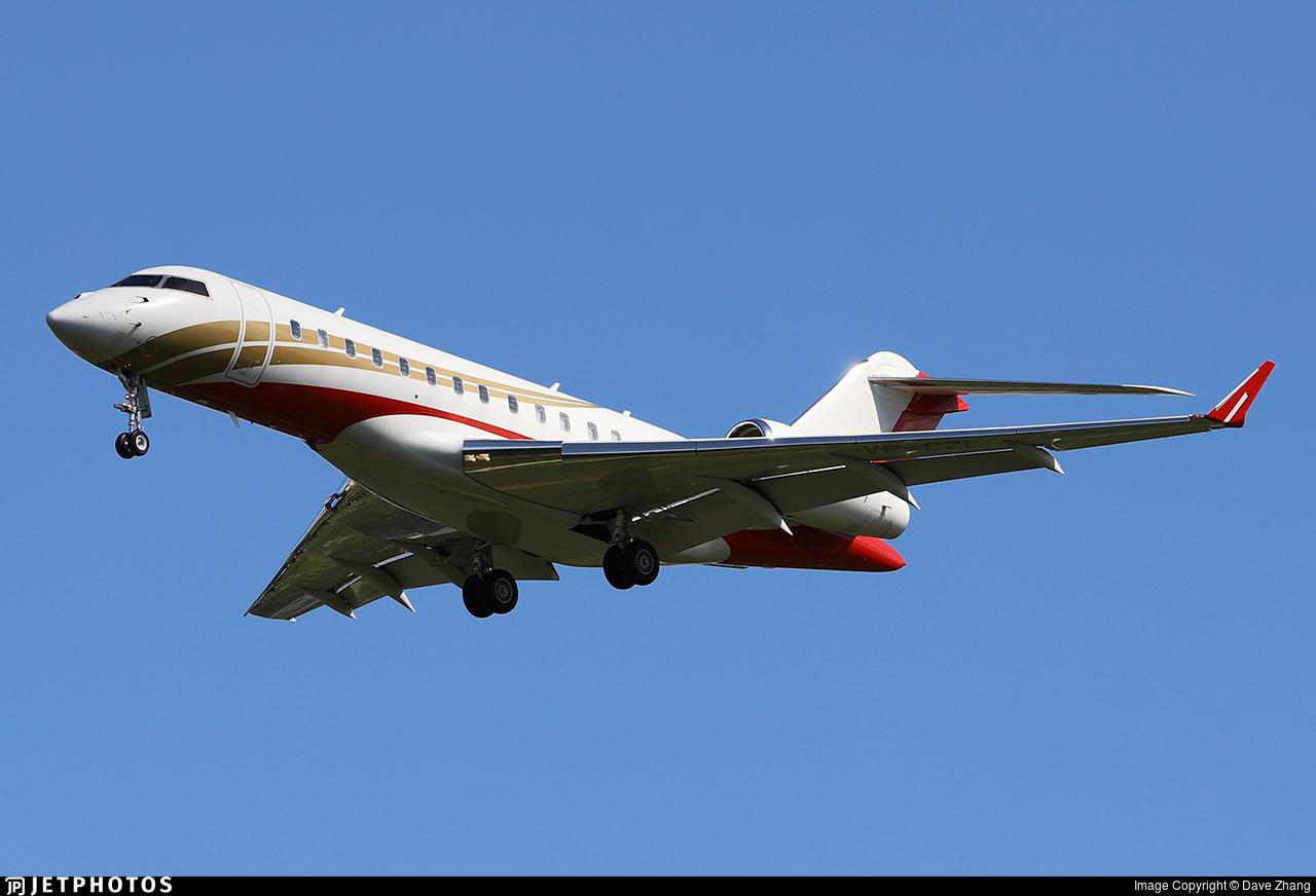 VP-CZL - Bombardier BD-700-1A10 Global 6000 - Private