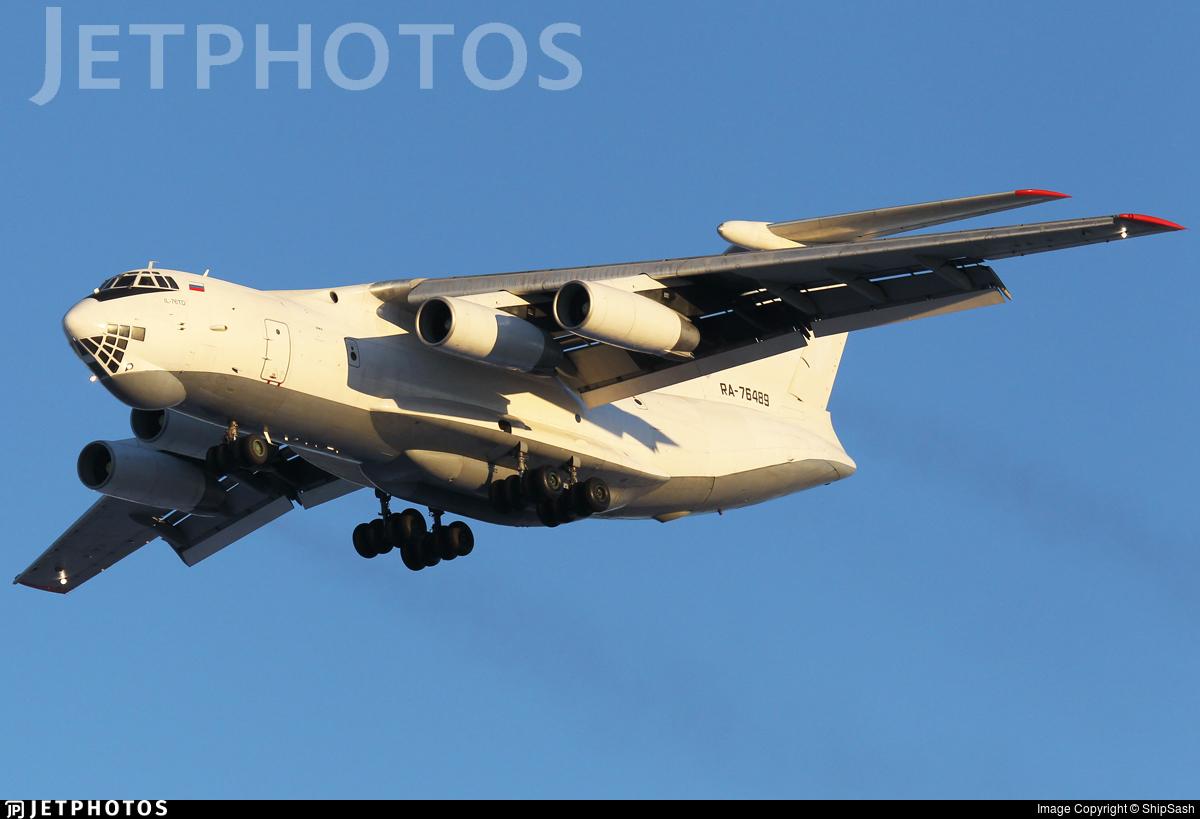 RA-76489 - Ilyushin IL-76TD - Aviacon Zitotrans