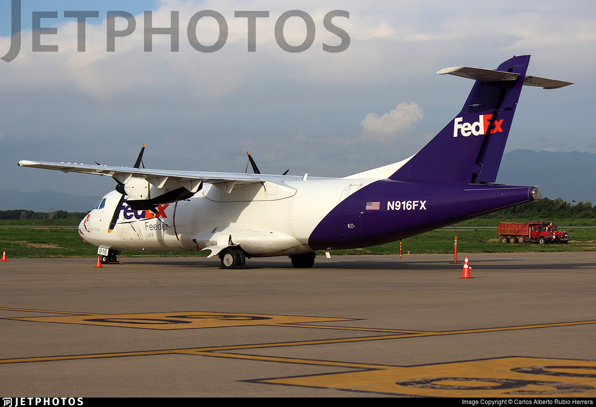 N916FX - ATR 42-300(F) - FedEx Feeder (Mountain Air Cargo)