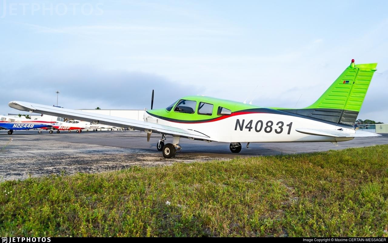 N40831 - Piper PA-28-151 Cherokee Warrior - Cirrus Aviation