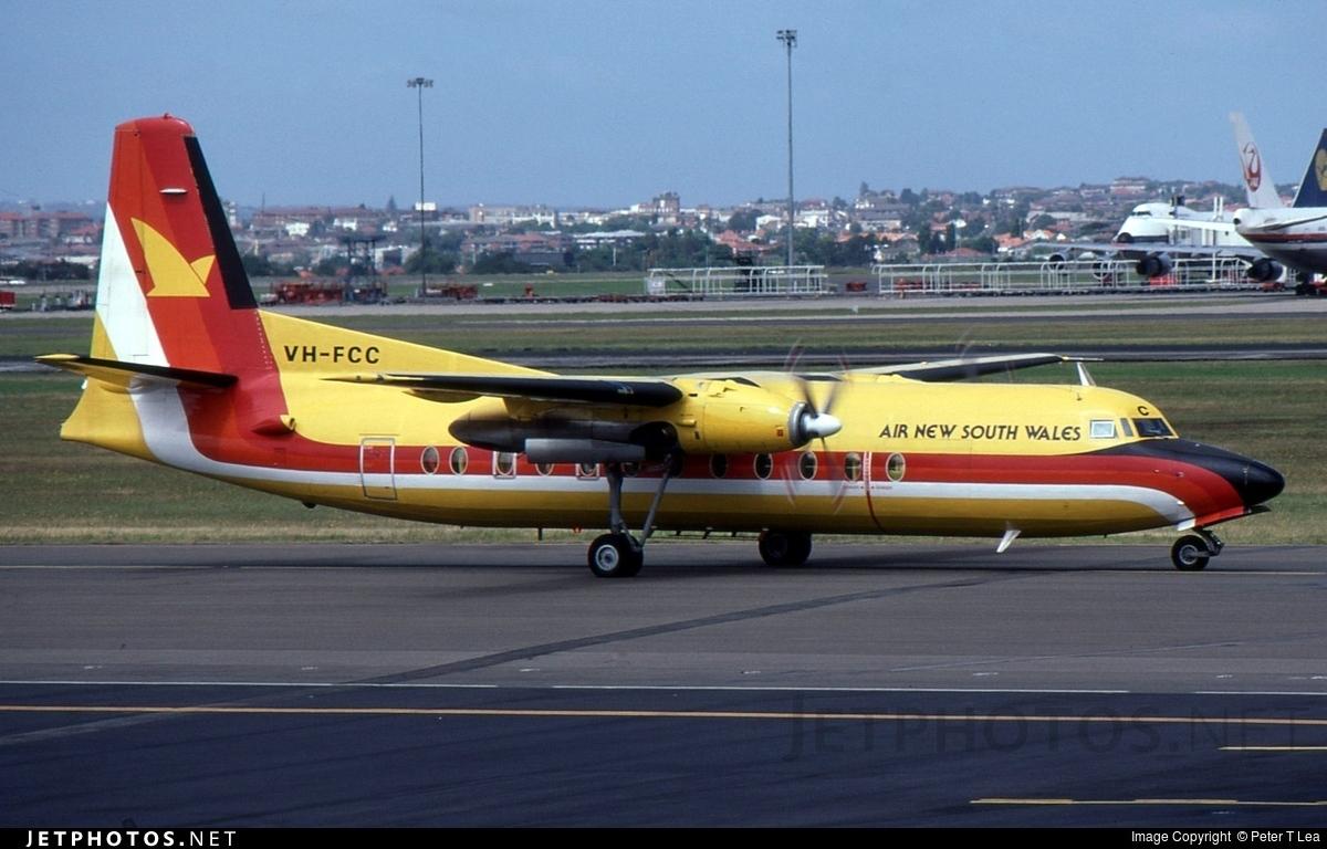 VH-FCC - Fokker F27-500F Friendship - Air New South Wales