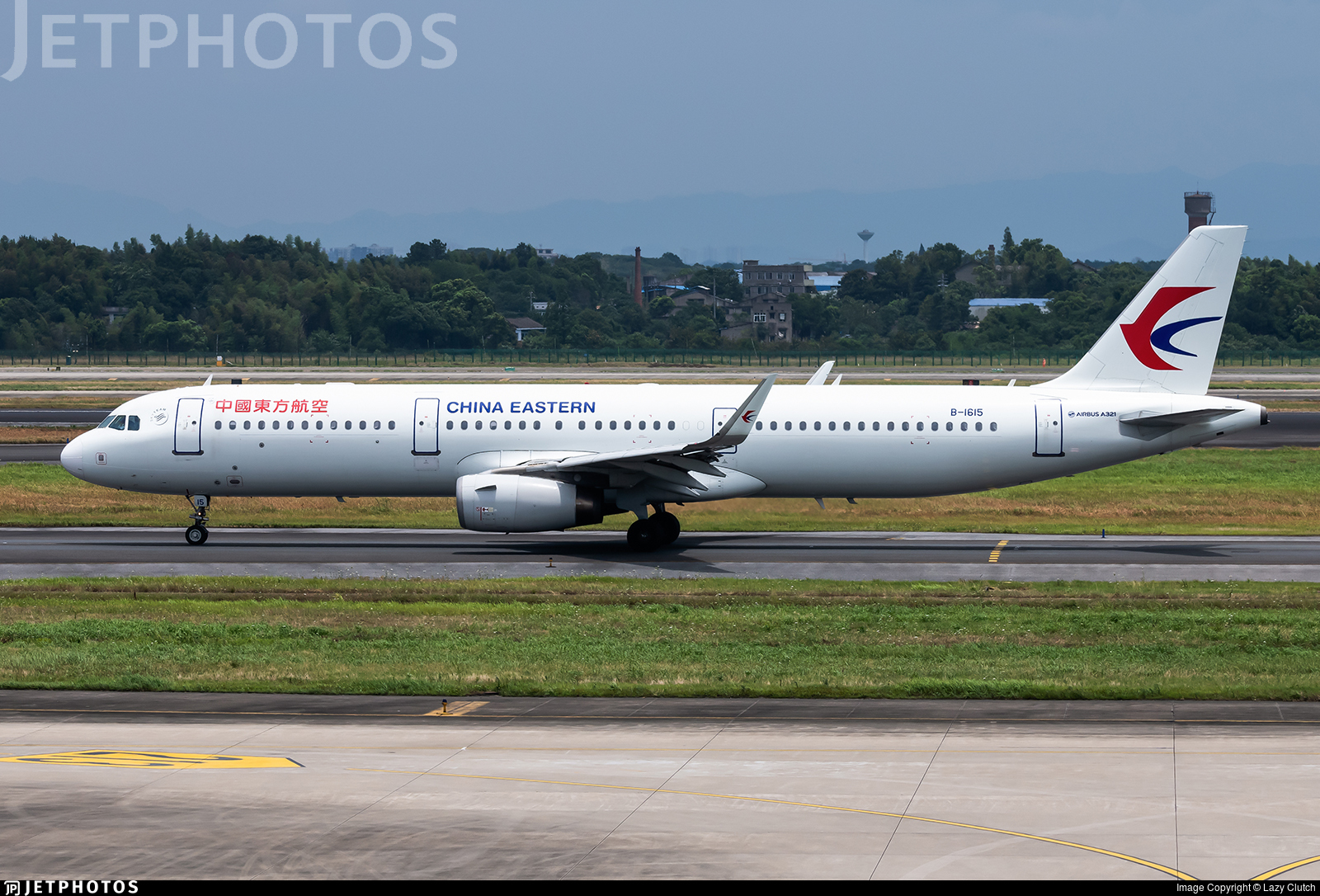 B-1615 - Airbus A321-231 - China Eastern Airlines