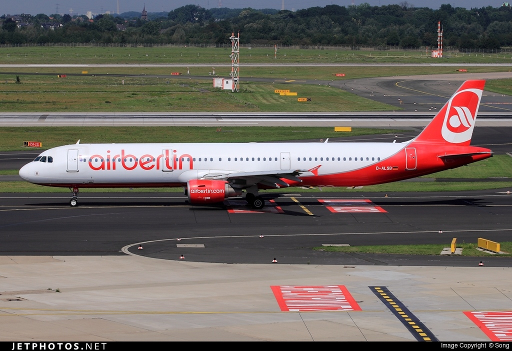 D-ALSB - Airbus A321-211 - Air Berlin