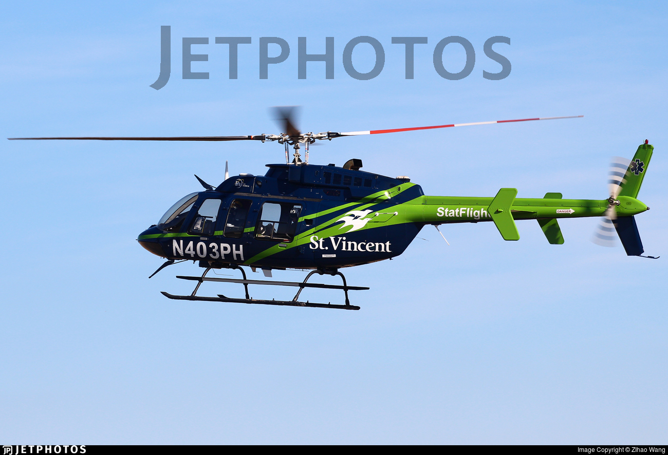 N403PH - Bell 407 - Private