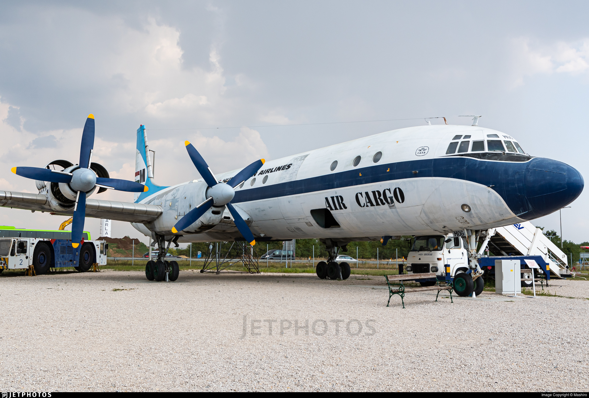 HA-MOG - Ilyushin IL-18 - Malév Hungarian Airlines