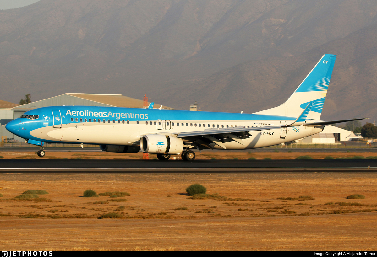 LV-FQY - Boeing 737-81D - Aerolíneas Argentinas