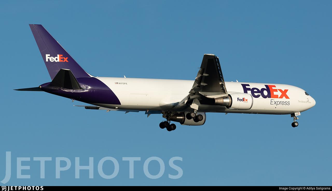 N172FE - Boeing 767-3S2F(ER) - FedEx