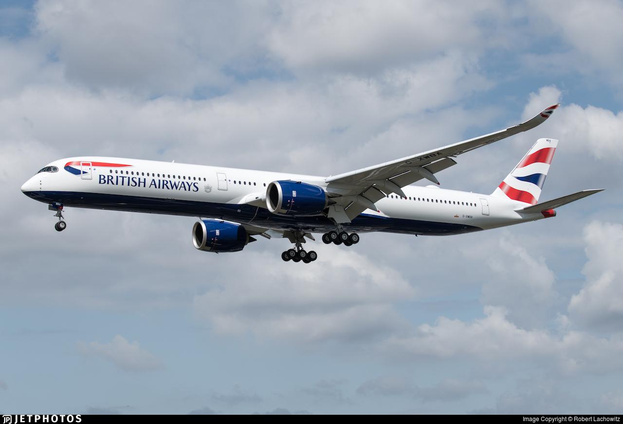 G-XWBA - Airbus A350-1041 - British Airways