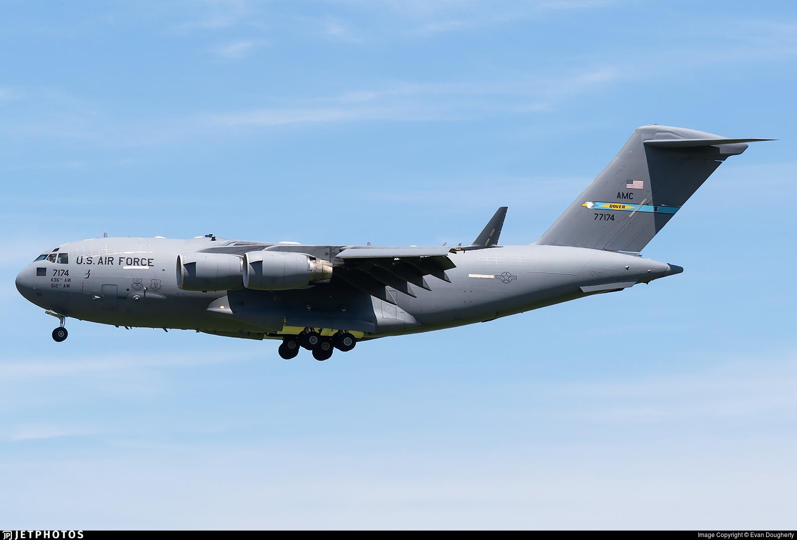 07-7174 - Boeing C-17A Globemaster III - United States - US Air Force (USAF)