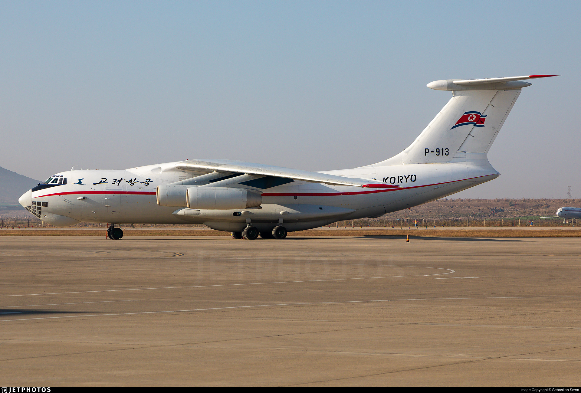 P-913 - Ilyushin IL-76MD - Air Koryo