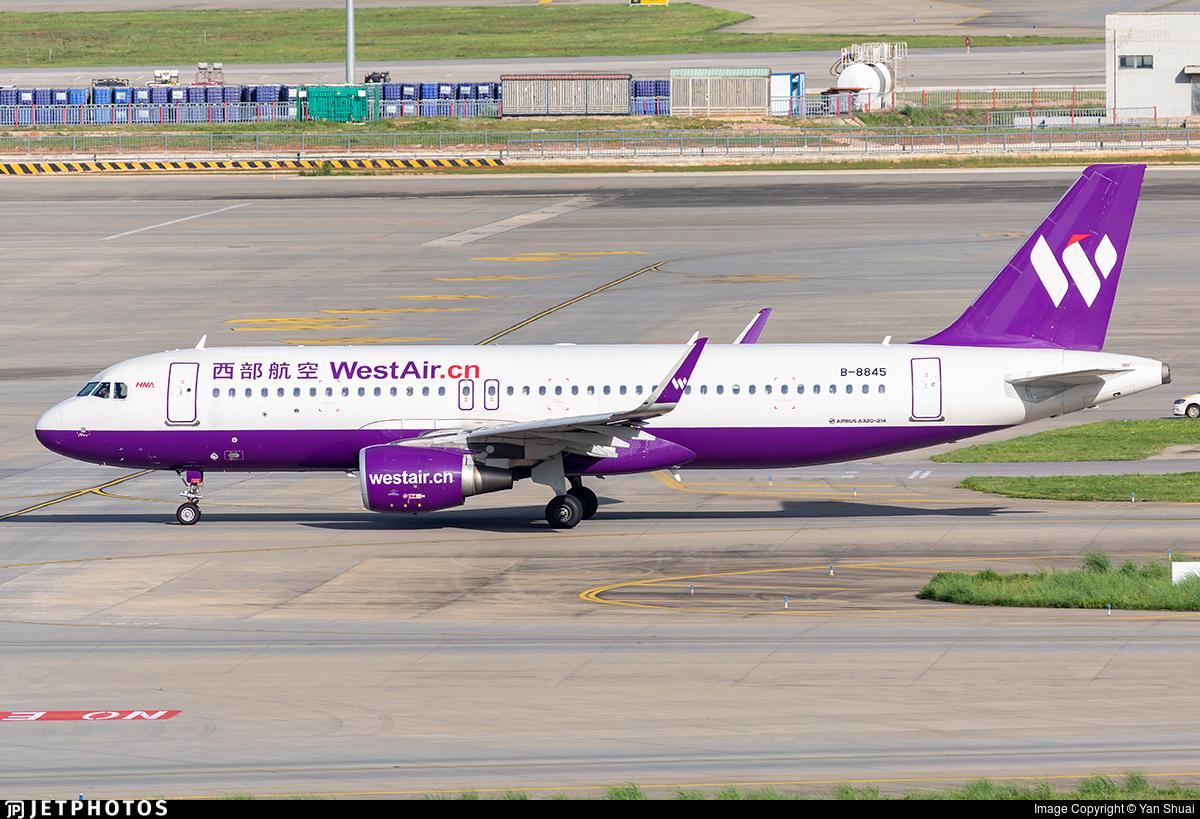 B-8845 - Airbus A320-214 - West Air