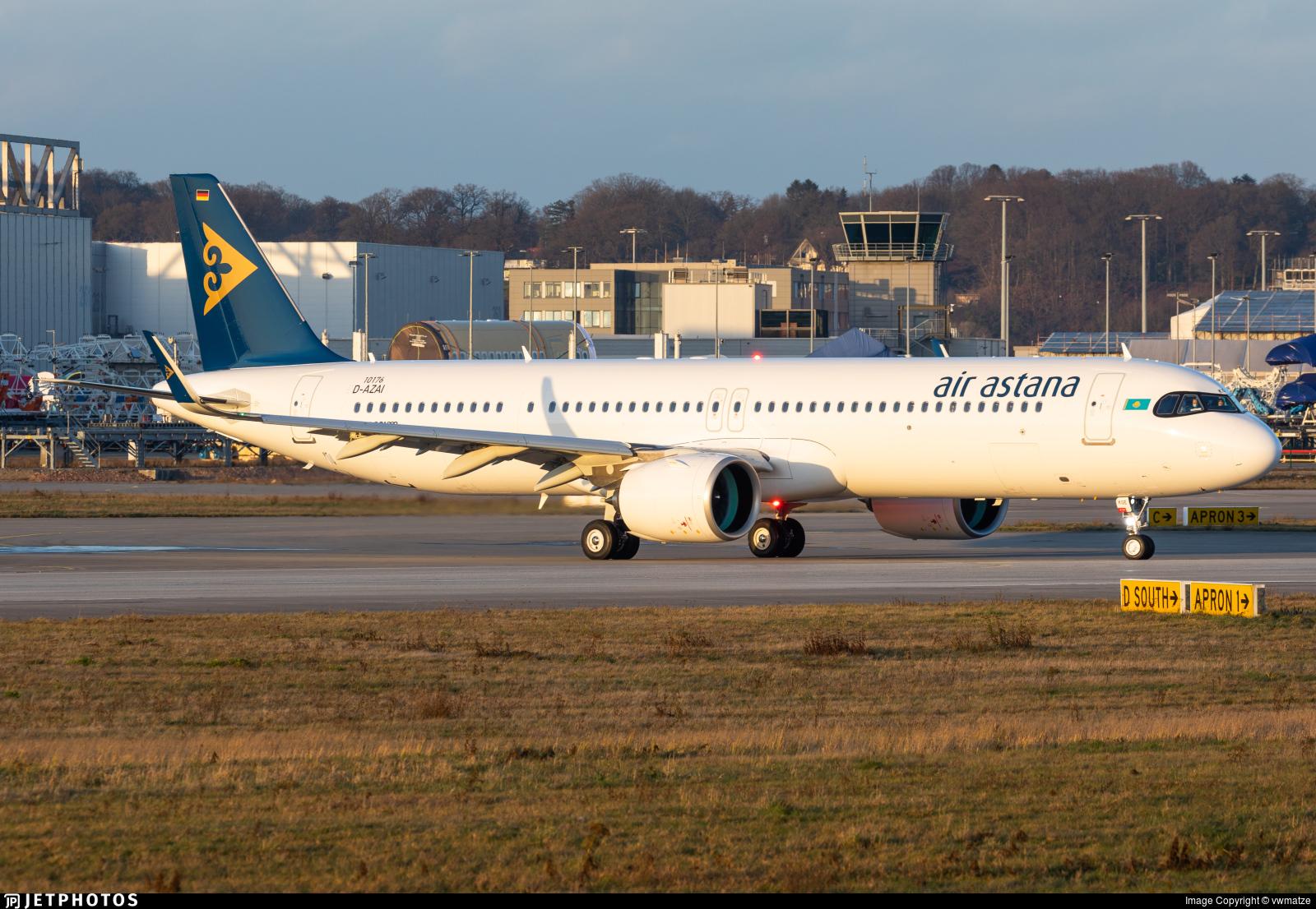 D-AZAI - Airbus A321-271NX - Air Astana