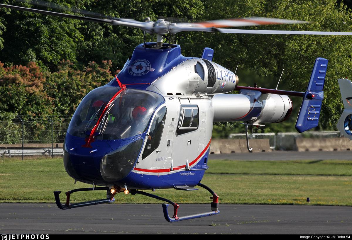 LX-HRC - McDonnell Douglas MD-900 Explorer - Luxembourg Air Rescue (LAR)