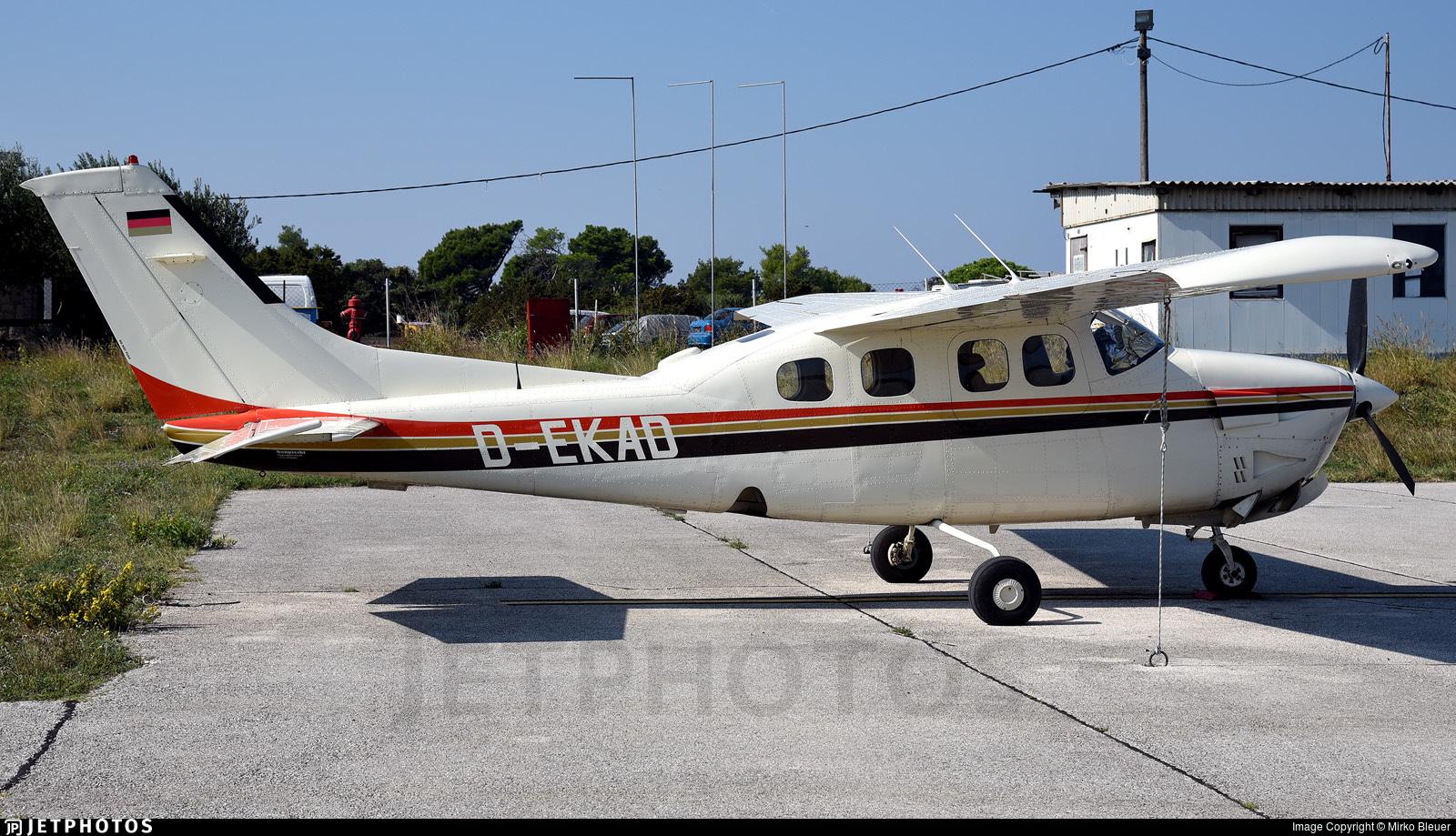 D-EKAD - Cessna P210N Pressurized Centurion II - Private
