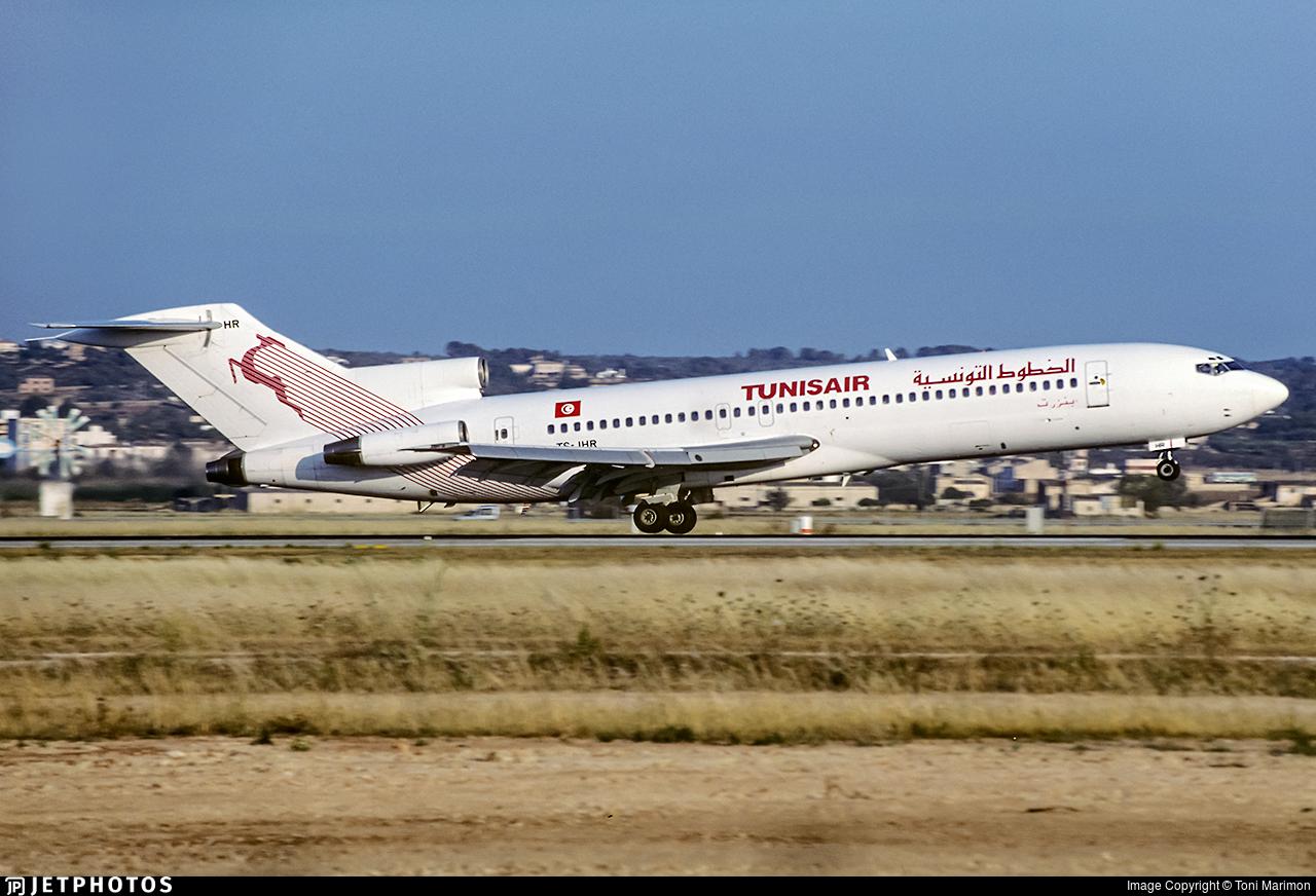 TS-JHR - Boeing 727-2H3(Adv) - Tunisair