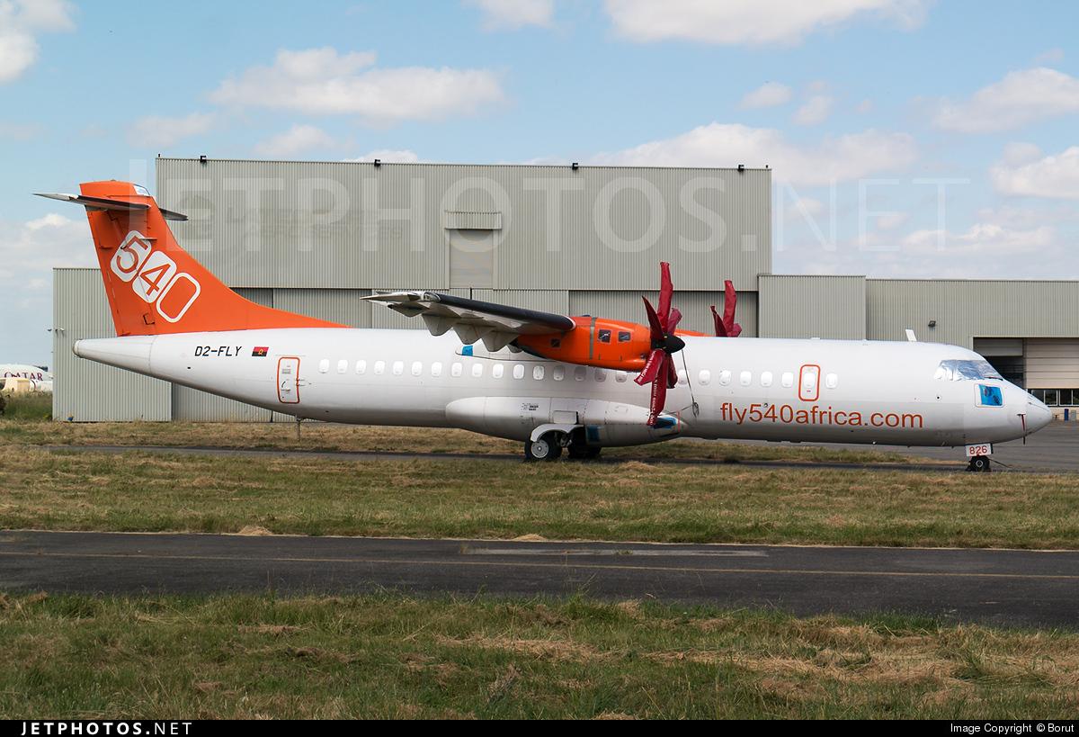 D2-FLY - ATR 72-212A(500) - Fly540 Angola