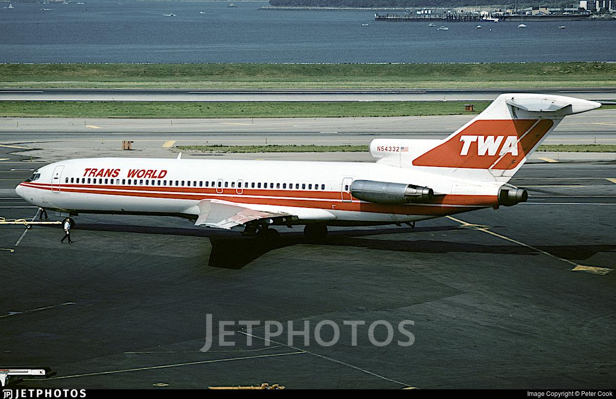 N54332 - Boeing 727-231 - Trans World Airlines (TWA)