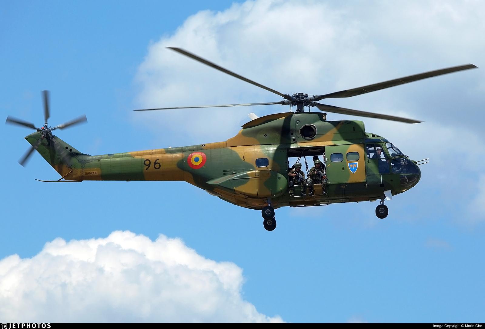 96 - IAR-330L Puma - Romania - Air Force