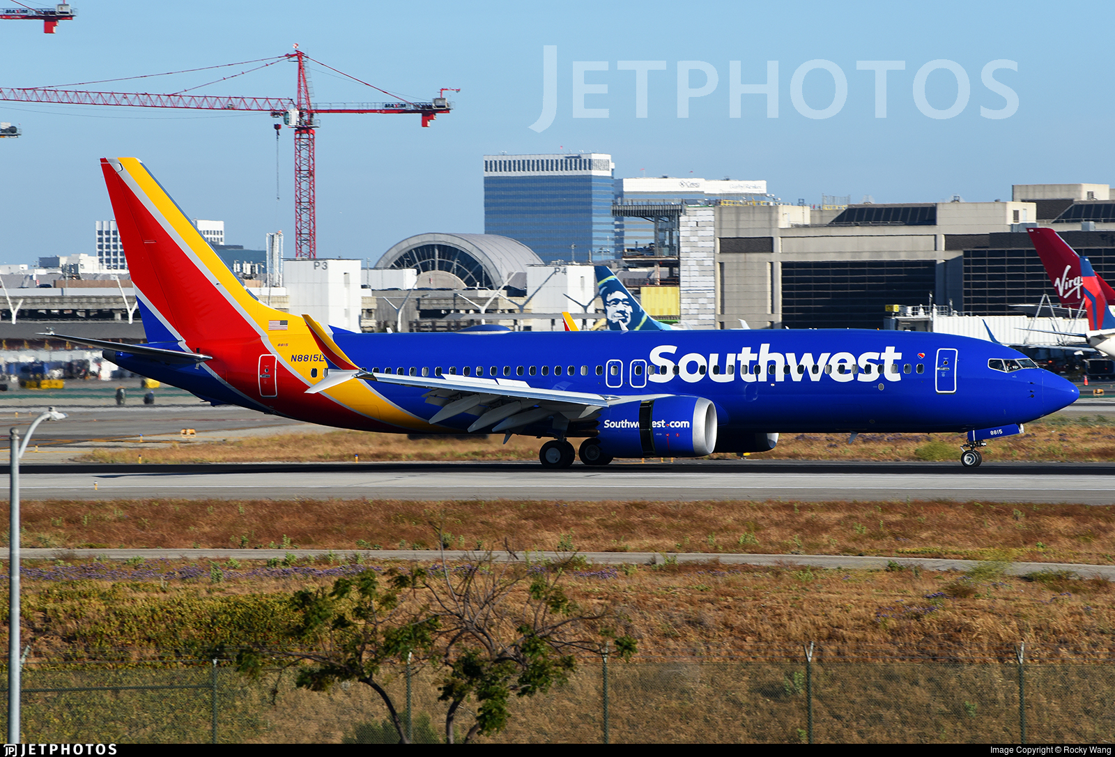 N8815L - Boeing 737-8 MAX - Southwest Airlines