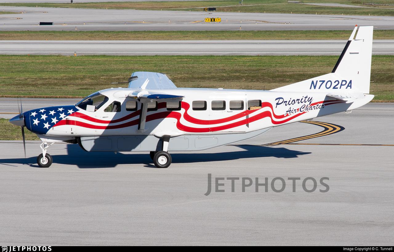 N702PA - Cessna 208B Grand Caravan - Priority Air Charter