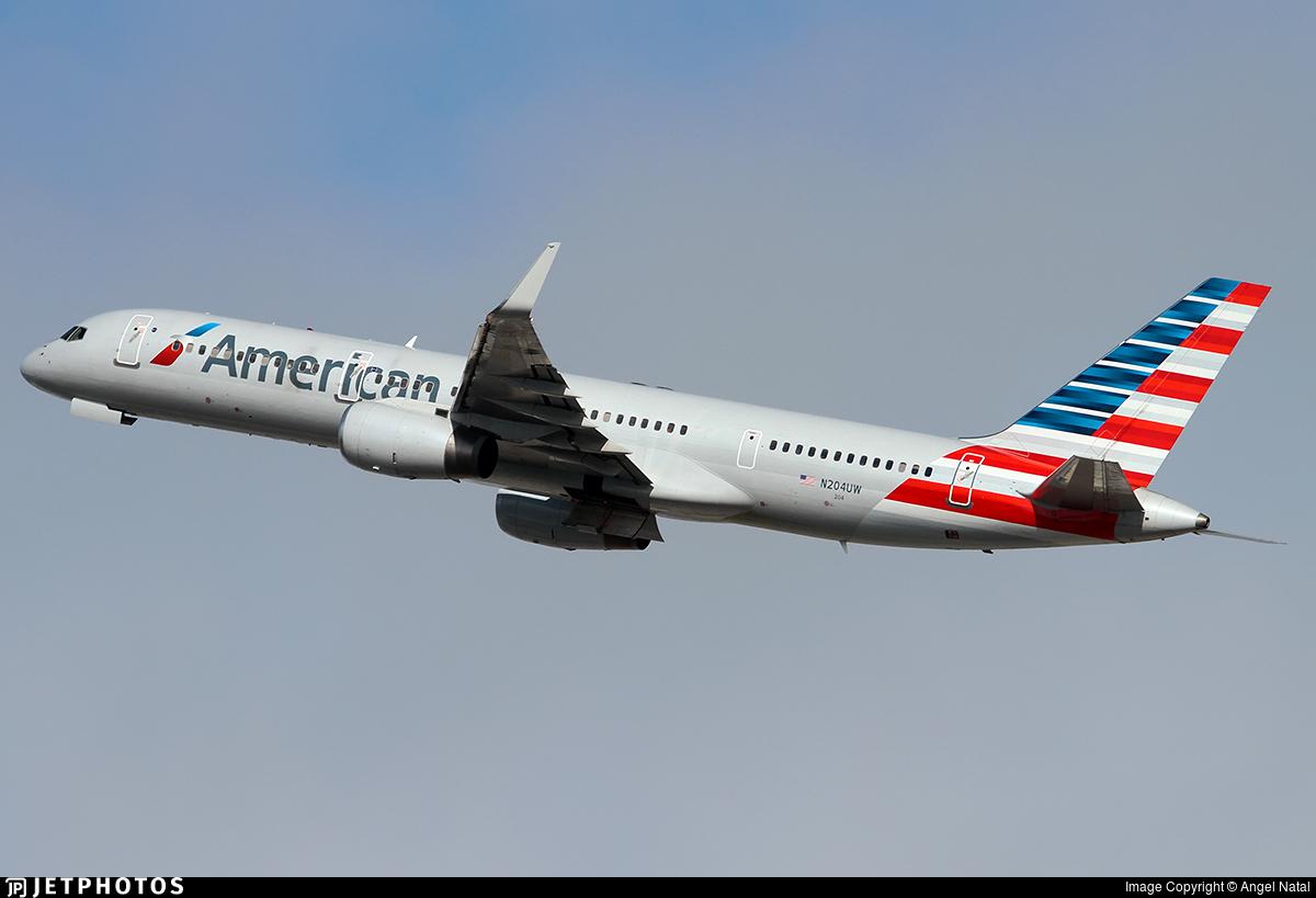 N204UW - Boeing 757-23N - American Airlines