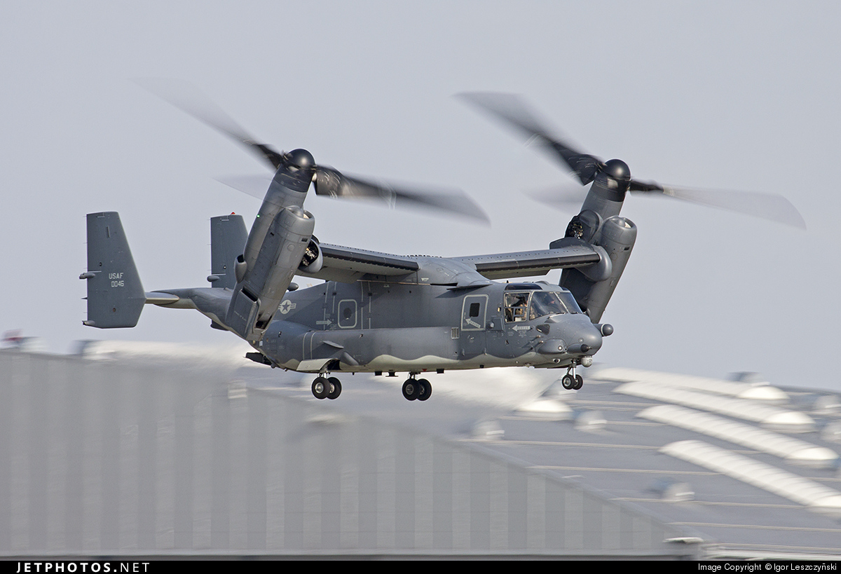 09-0046 - Boeing CV-22B Osprey - United States - US Air Force (USAF)