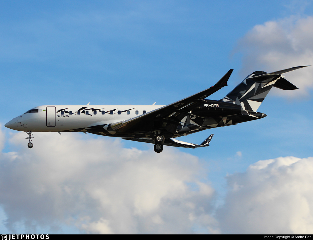 PR-DYB - Bombardier BD-700-1A10 Global 6000 - Private
