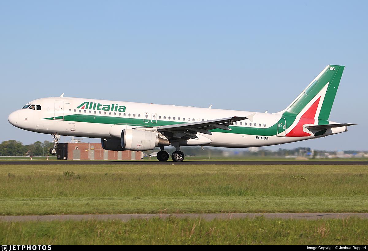 EI-DSG - Airbus A320-216 - Alitalia