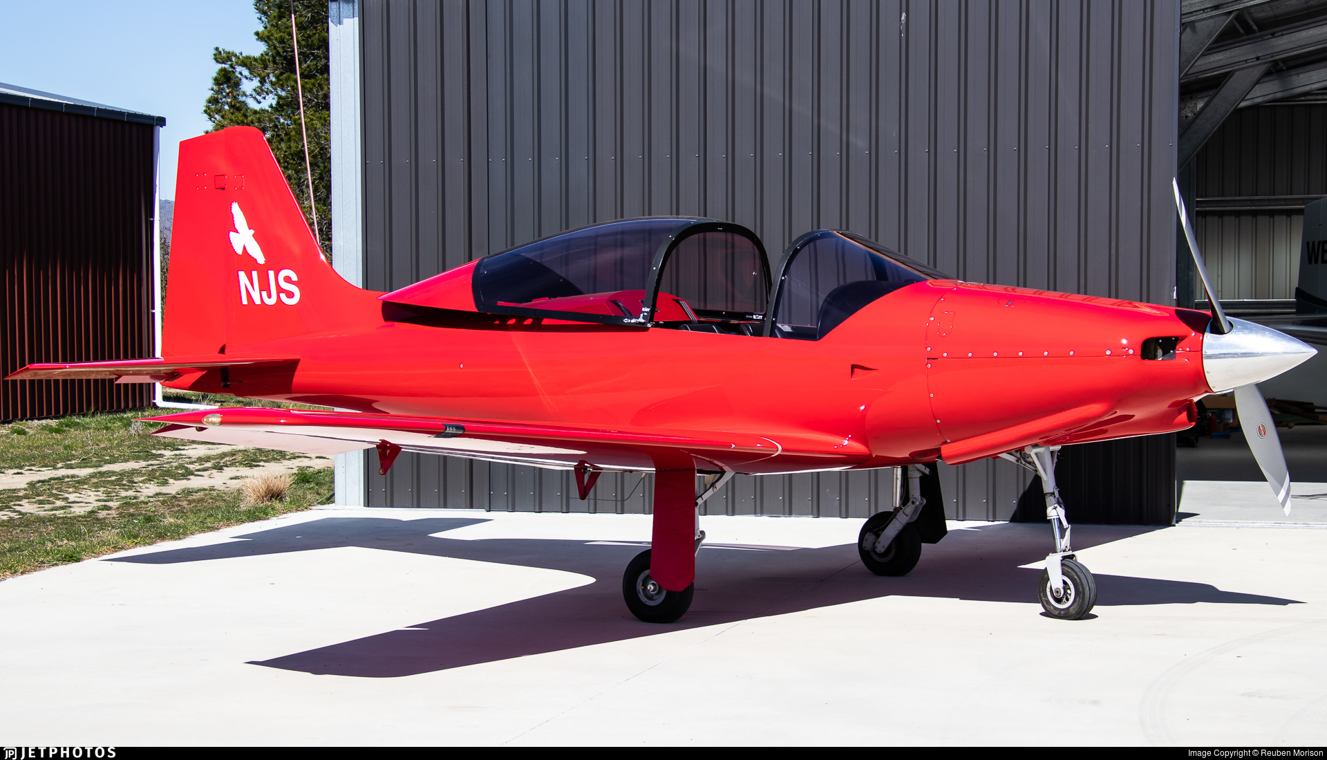 ZK-NJS - Falcomposite Furio LN27 RG - Private