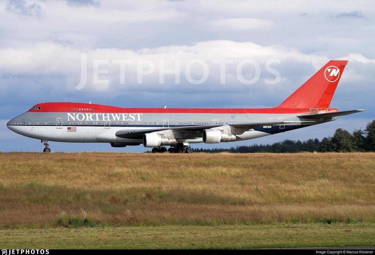 N623US - Boeing 747-251B - Northwest Airlines